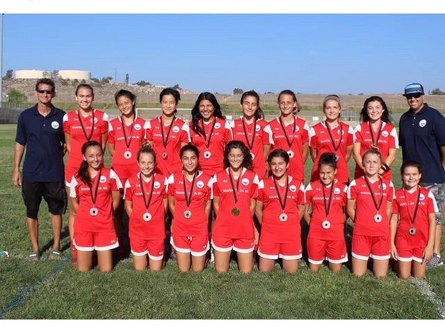 Girls 2004 (Coach Damon) -Wins another medal. Congrats!