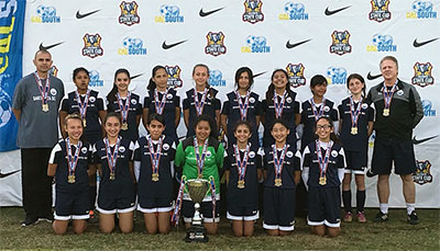 SASC Girls State Cup Winners